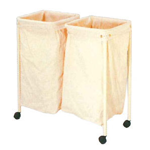 SURGICAL SOILED LINEN RACK -DOUBLE BAG