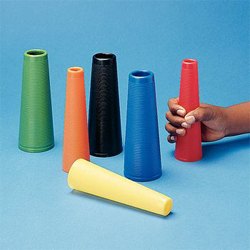 PLASTIC STACKING CONES