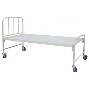 HOSPITAL MECHANICAL FIXED HEIGHT BED - FLAT BASE