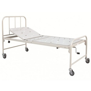 HOSPITAL FIXED HEIGHT BED SINGLE FOWLER