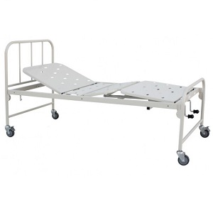 HOSPITAL FIXED HEIGHT BED DOUBLE FOWLER