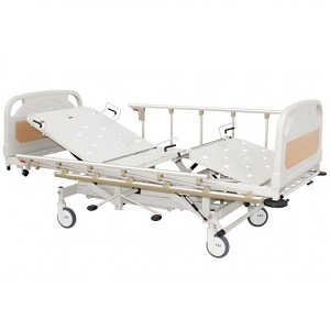 HOSPITAL HYDRAULIC BED DOUBLE FOWLER