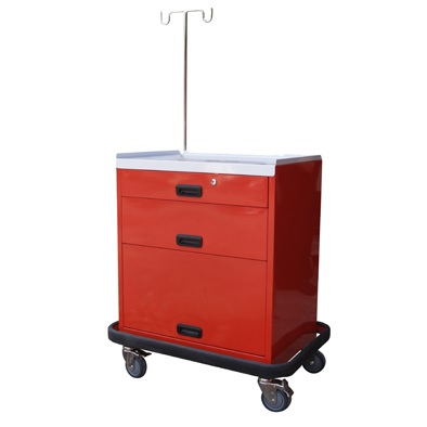 MEDICAL EMERGENCY CART -3D