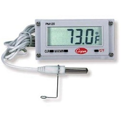 MINI RECTANGULAR PANEL THERMOMETER