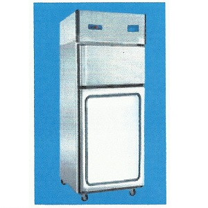 VCF 400 REFRIGERATOR & FREEZER COMBINED GLASS DOOR