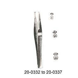 LANE TISSUE FORCPES, 2x3 TEETH 5½ INCHES