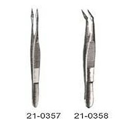 HUNTER SPLINTER FORCEPS, CURVED 4½ INCHES (11½CM)