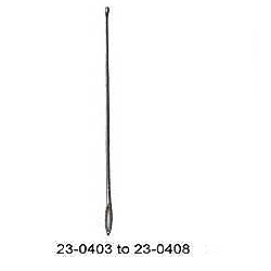 PROBE WITH EYE 5½ INCHES (14 CM)