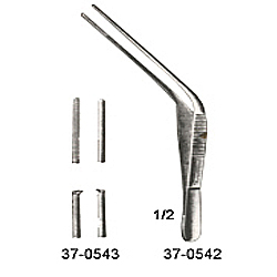 TROELRSCH EAR DRESSING FORCEPS,1x2 TEETH, 5 INCHES (13CM)