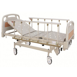 HOSPITAL MECAHNICAL HI-LO BED DOUBLE FOWLER