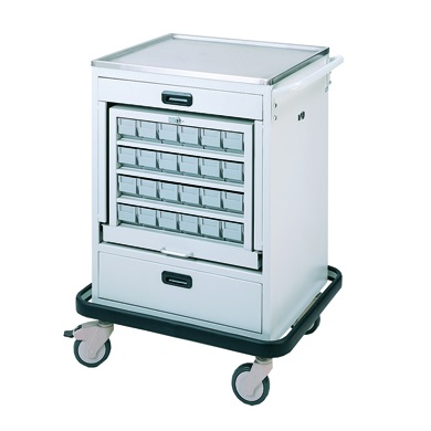 HOSPITAL MEDICATION CART (36 BINS)