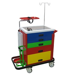 MEDICAL EMERGENCY CART NEW - SL