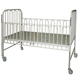 HOSPITAL BED W.M.F.  PAEDS/ADULT COT