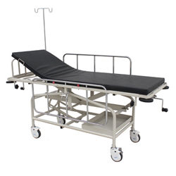 PATIENT TRANSPORT TROLLEY - FIXED HEIGHT
