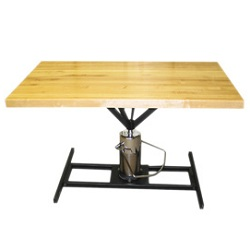 RECTANGULAR HI-LO WORK TABLE