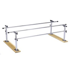 FOLDING HEIGHT/WIDTH ADJUSTABLE PARALLEL BARS 7