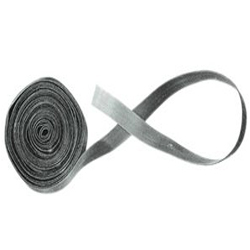 VELCRO 1 INCH SELF ADHESIVE LOOP, 25 YARD, BLACK