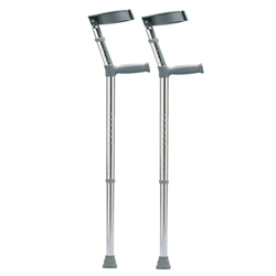 ADJUSTABLE ELBOW CRUTCHES-ADULT