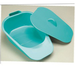 NRS BEDPAN WITH COVER