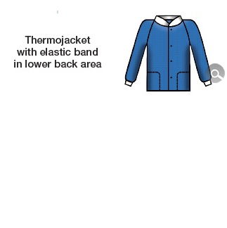 THERMAL JACKET, SOFT (SIZE M) BLUE