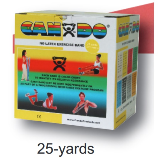CANDO LATEX 25 YARDS FREE EXERCISE BAND