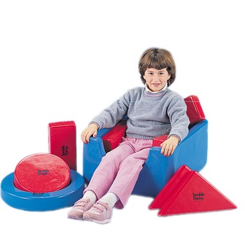 TUMBLE FOAM S SQUARE CHAIR