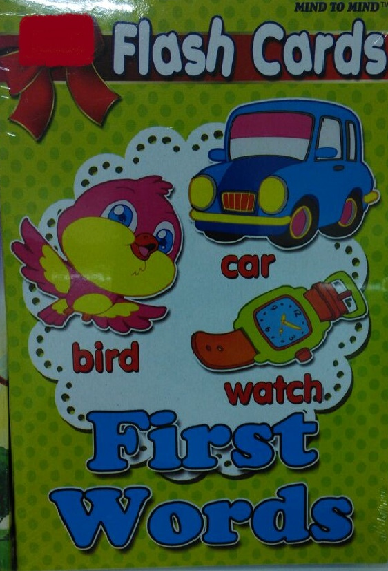 FLASH CARD - FIRST WORDS