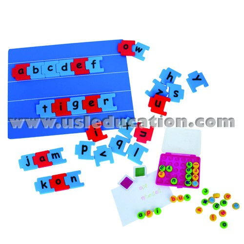 MAGNETIC LINKS WITH BOARD (3/SET)