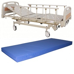 THREE FUNCTION MECHANICAL HI-LO BED (DOUBLE FOWLER)