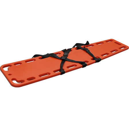 SPINAL BOARD WITH 3 STRAPS