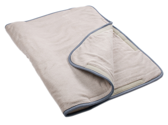 MOIST HEAT PACK COVER - TERRY WITH FOAM FILL OVERSIZE - 24.5 X 36 INCHES
