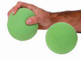3 INCH FOAM BALL HAND EXERCISER - DOZEN