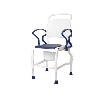 KOLN COMMODE CHAIR WITH (01968) ARMREST PADS