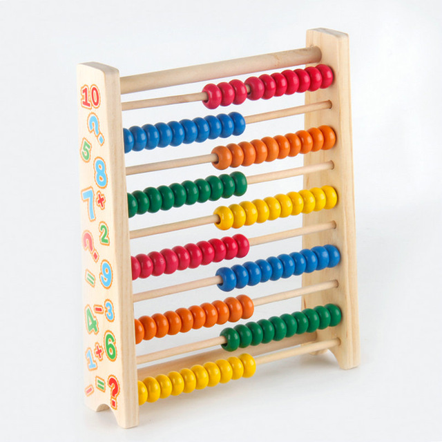 CHILDREN WOODEN ABACUS