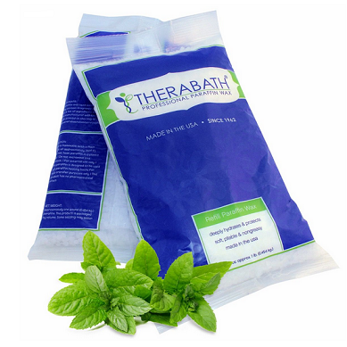 THERABATH REFILL PARAFFIN WAX  ROSEMARY MINT (6)