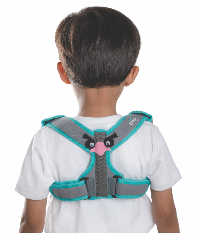 CLAVICLE BRACE WITH VELCRO - CHILD