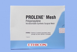 PROLENE MESH MEDIUM 15X15CM