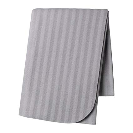 SOFT FLEET THROW BLANKET - GREY