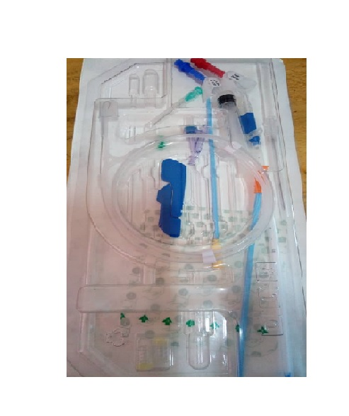RIVA SHORT TERM HEMODIALYSIS CATHETER KIT & ACCESSORIES 1 SET /SET
