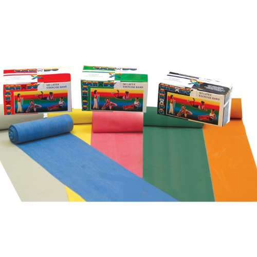CANDO EXERCISE BAND 6 YARD LATEX FREE