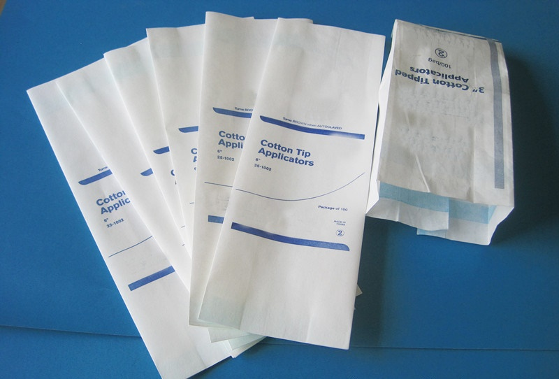 STERILIZATION PAPER BAG PLAIN SEAL