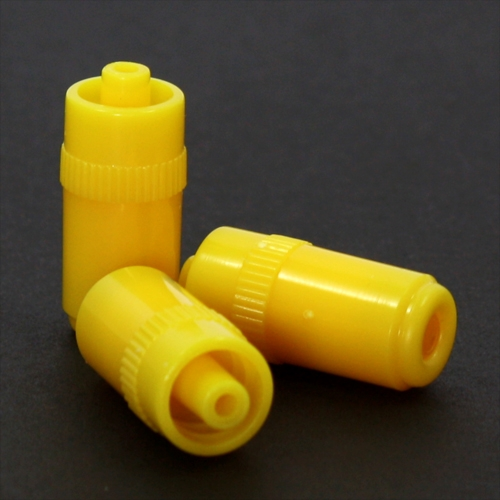 YELLOW INSTOPPER/HEPARIN CAP