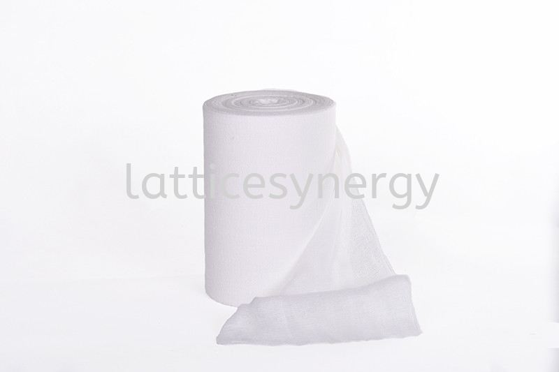 ABSORBENT GAUZE ROLL 4PLY
