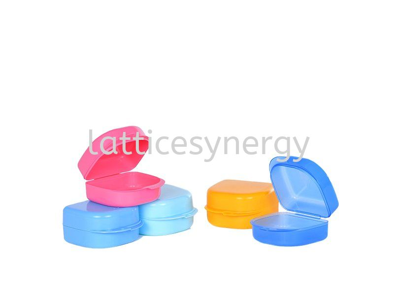 DENTURE BOX (BLUE,GREEN,PINK,YELLOW,DARK BLUE)