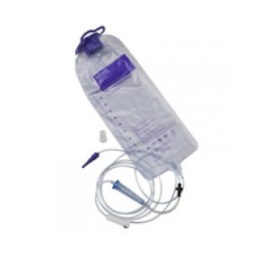 ENTERAL FEEDING BAG 1200ML WITH ATTACHED PUMP