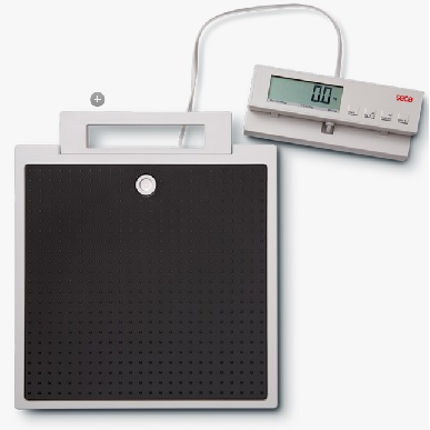 SECA FLAT SCALE WITH CABLE REMOTE DISPLAY