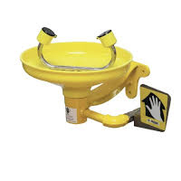 Wall Mounted Eyewash with ABS Plastic Bowl