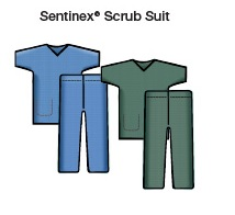 SENTINEX SCRUB SUITS SET