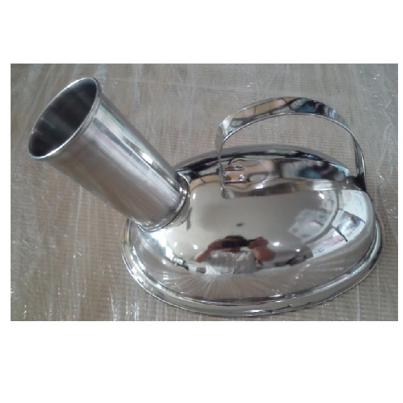 URINAL / URINE POTS (STAINLESS STEEL), MALE SZ:800ML